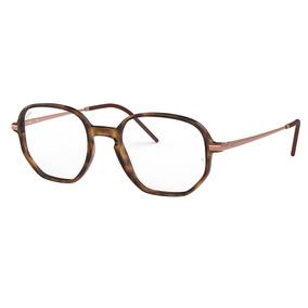 893e70db2f00e Armacao Ray Ban 8724 - Óculos Marrom no Mercado Livre Brasil