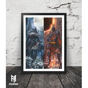 Quadro Bloodborne / Dark Souls
