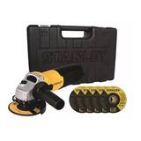Amoladora Angular Stanley Stgs7115kd 710w Maleta Cuotas