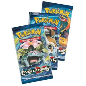 Pack 3 Sobres Cartas Pokemon Xy Evolutions Tcg