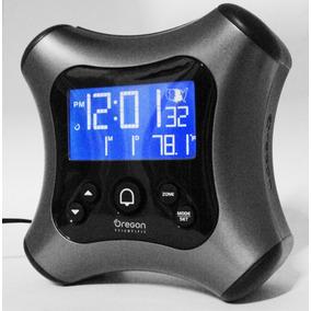 Reloj Despertador Con Proyector Laser De Hora Lcd Black