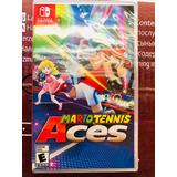 Mario Tennis Aces Nintendo Switch Nuevo Meses Sin Intereses