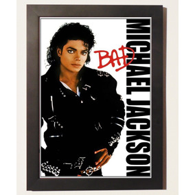 Quadro Poster Com Moldura Michael Jackson - O Rei Do Pop