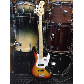 Bajo Sx Jazz Bass Fjb 75 Sunburst 3ts American Ash