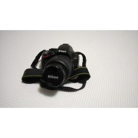 Câmera Nikon D5100 Lente Case 2 Baterias Cabos Baixo Cliques