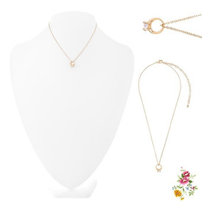 Collar De Amor Eterno, 4 Baños De Oro De 18kt