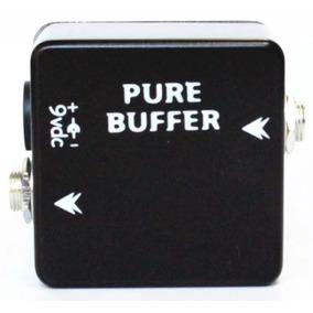 Pedal Pure Buffer Eliminador De Latência True Bypass