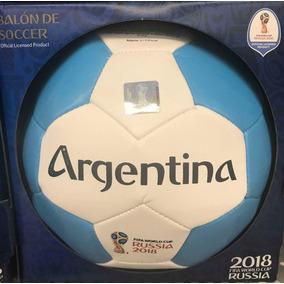 Balón Conmemorativo Mundial Russia 2018 Equipo Argentina 86ad5275bd3ad