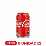 Coca Cola Lata 350ml Pack 6u