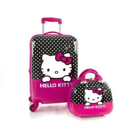 Maleta Estuche Maquillaje Hello Kitty Heys America 2 Piezas b1af440ebebb3