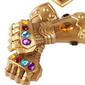 Luva Thanos Acessório Fantasia Manopla Cristais Avengers