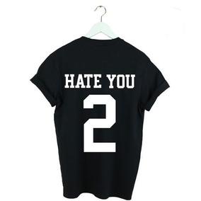 Camisa Camiseta Unissex Costa Hate You Too 2 d5378f4583911