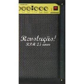 Rpm Revoluçao 25 Anos[box 4 Cds+1 Dvd Original Lacrado]
