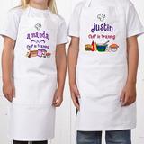 Delantal Chef Cocinero Personalizado Niños