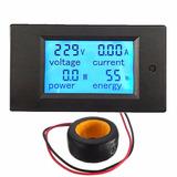 Medidor De Consumo De Energia Luz Kwh Digital 100a