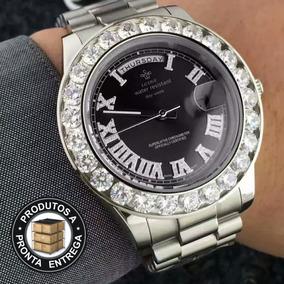 a0f4f53f642 Relogios Masculinos Cravejado - Relógios De Pulso no Mercado Livre ...