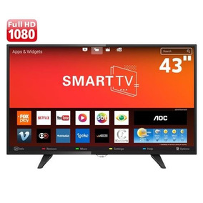 Smart Tv Led 43 Aoc Full Hd Miracast App Gallery Integrado