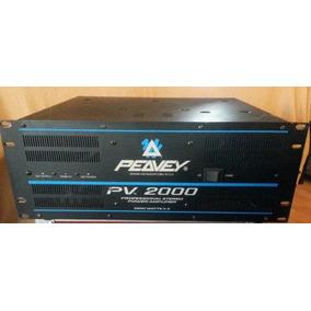 Power Amplificador De Sonido Peavey 2000