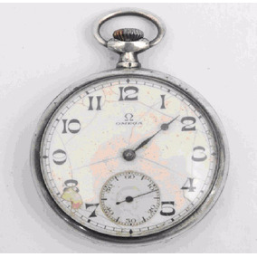 ae28f5960c8 Relogio Bolso Omega Prata Macica - Relógios no Mercado Livre Brasil