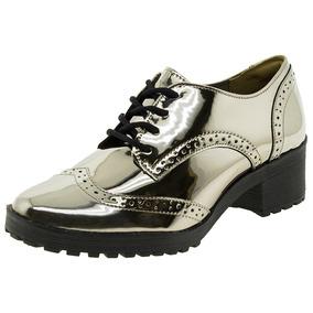 e137c0e40 Sapato Oxford Feminino Plataforma Oxfords Via Marte - Sapatos no ...