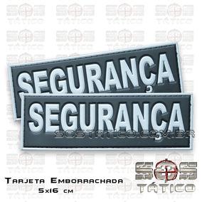 Segurança - Vigilante Tarjeta Emborrachada 5x16 + Fixadores