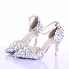425a51682 Peep Toe Via Marte Noiva Feminino - Sapatos no Mercado Livre Brasil