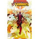 Comic Deadpool Versus Thanos Ingles Not For Kids Nuevo