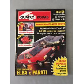 Revista Quatro Rodas - Junho 1986 - Nº 311 Elba X Parati