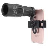 Lente Telescopio Para Celular Zoom 16x52
