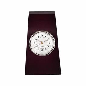 Reloj De Madera Manecillas Café