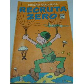Recruta Zero A Cores Nº 69 De 1969 Gibi Raro Rge Excelente