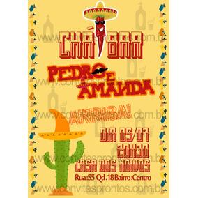 Convite Festa Mexicana - Ar Livre a36493cc733