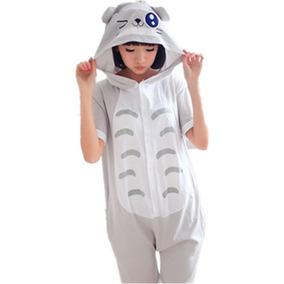 Pijama Corta Totoro Kigurumi Disfraz Verano Conjunto Ghibli