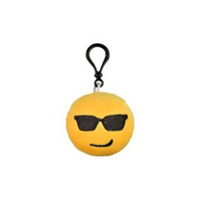 Chaveiro Emoji Emoticon 6 X 6 Cm - Bordado - Pelucia