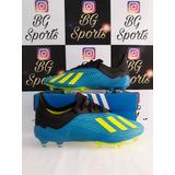 Chuteira Campo Adidas X18 - Esportes e Fitness no Mercado Livre Brasil ce075f360a93d