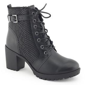 Bota Coturno Feminino Bottero Botgarda - Sapatos no Mercado Livre Brasil a9d16399a60ba