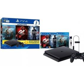 Ps4 Slim Sony 1tb Com 3 Jogos Promoção Black Friday