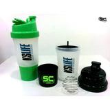 Shaker 3 En 1 - Pastillero, Antigrumos, Recipiente Proteina