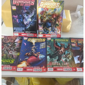Hq - Guardiões Da Galaxia Kit 6 Volumes 001 A 006