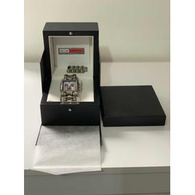 Oakley Minute Machine Fundo Prata 100% Original Completo