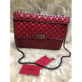 Bolsa Valentino Rockstud - Bolsas Femininas no Mercado Livre Brasil 542f2586617
