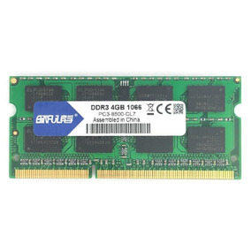 Memória Ddr3 Binful 1066mhz 4gb Notebook Pc3-8500 1.5v