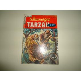 Almanaque Tarzan 1957 Ebal Excelente Estado Todo Original