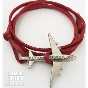 Brazalete Fly Rojo-plateado - Remove Before Flight®