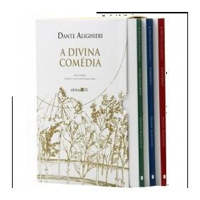 Livro A Divina Comédia 3 Vols. Dante Alighieri