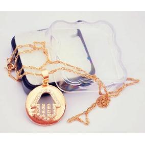 d38f41d4428b Medalha De Jerusalém Com Mão Hamsa - Joias e Bijuterias no Mercado ...