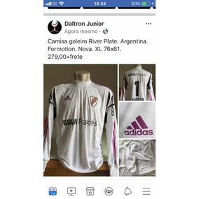 64a6edae1 Uniforme De Goleiro Do River Plate - Camisas de Futebol no Mercado Livre  Brasil
