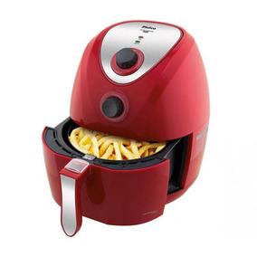 Fritadeira Sem Óleo Air Fry Saúde 3 Litros Vermelho