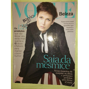 Revista Vogue Brasil Beleza Xuxa Ano 2013 N°2 (autografada!)