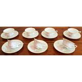 7 Tazas Para Café En Porcelana Rosenthal Bavaria De 1920+